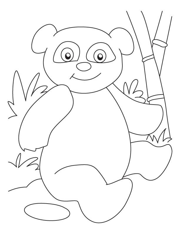 Sophisticated panda coloring pages | coloring with bev ...