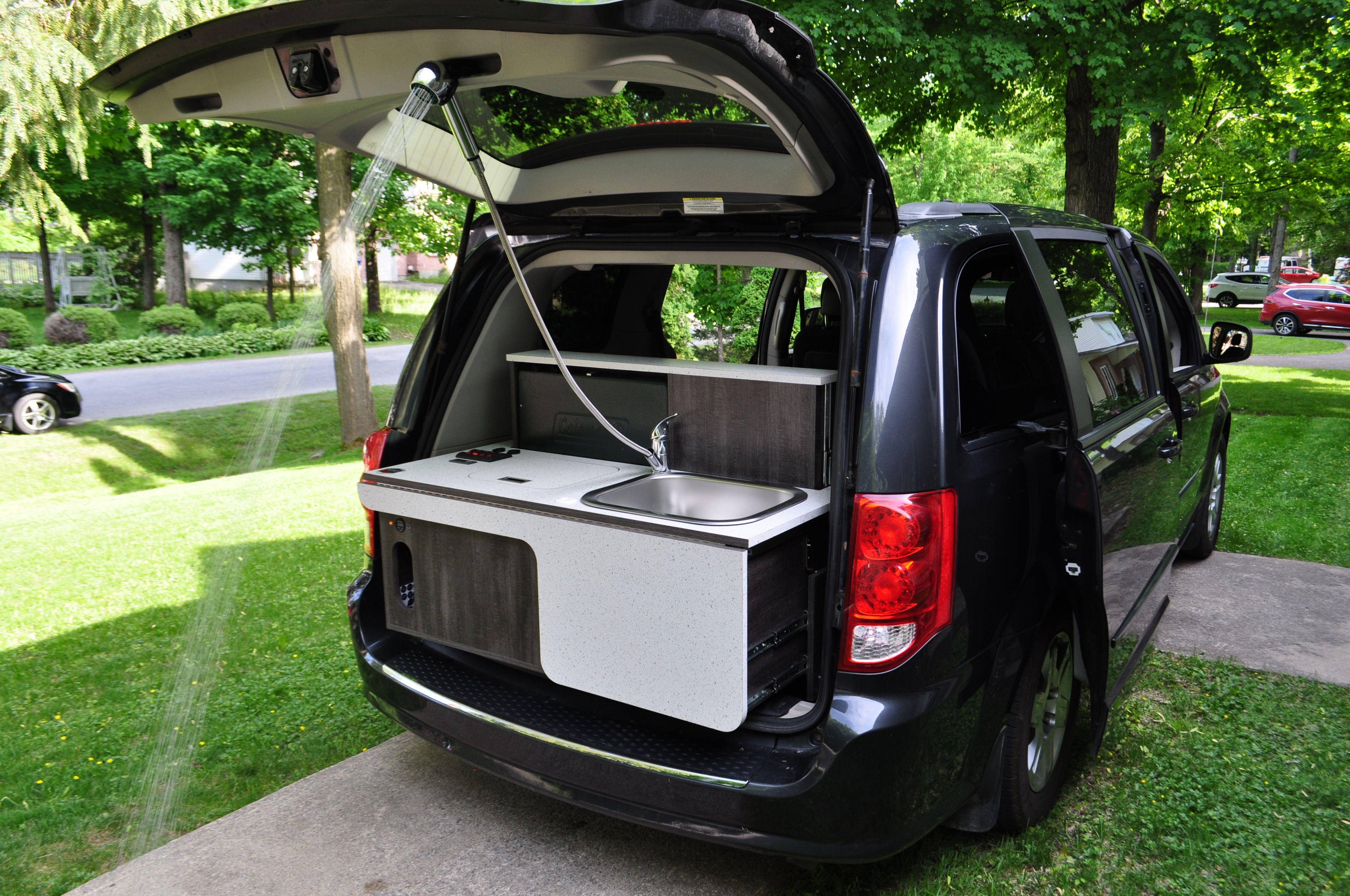 Camper Van Shower By Freeway Camper Kit Mini Van Campervan