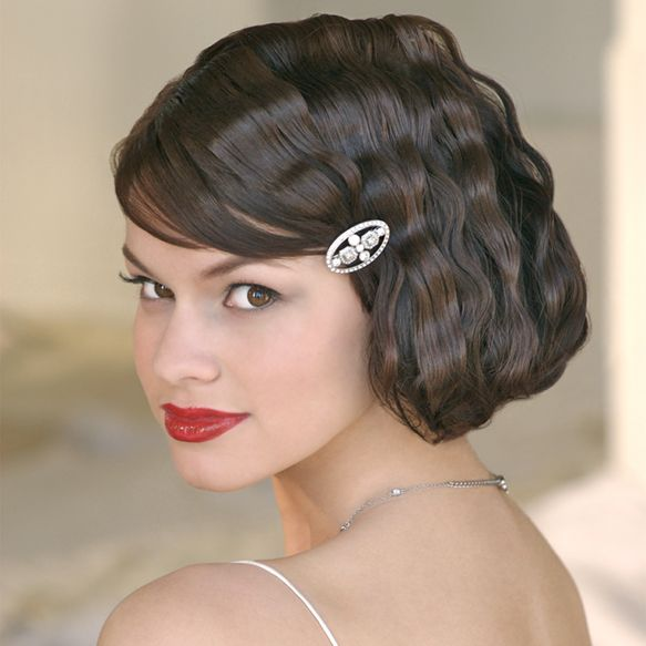 4 Of The Most Distinct 20s Hairstyles Hairstyle Album Gallery Short Wedding Hair Vintage Hairstyles Short Hair Bride