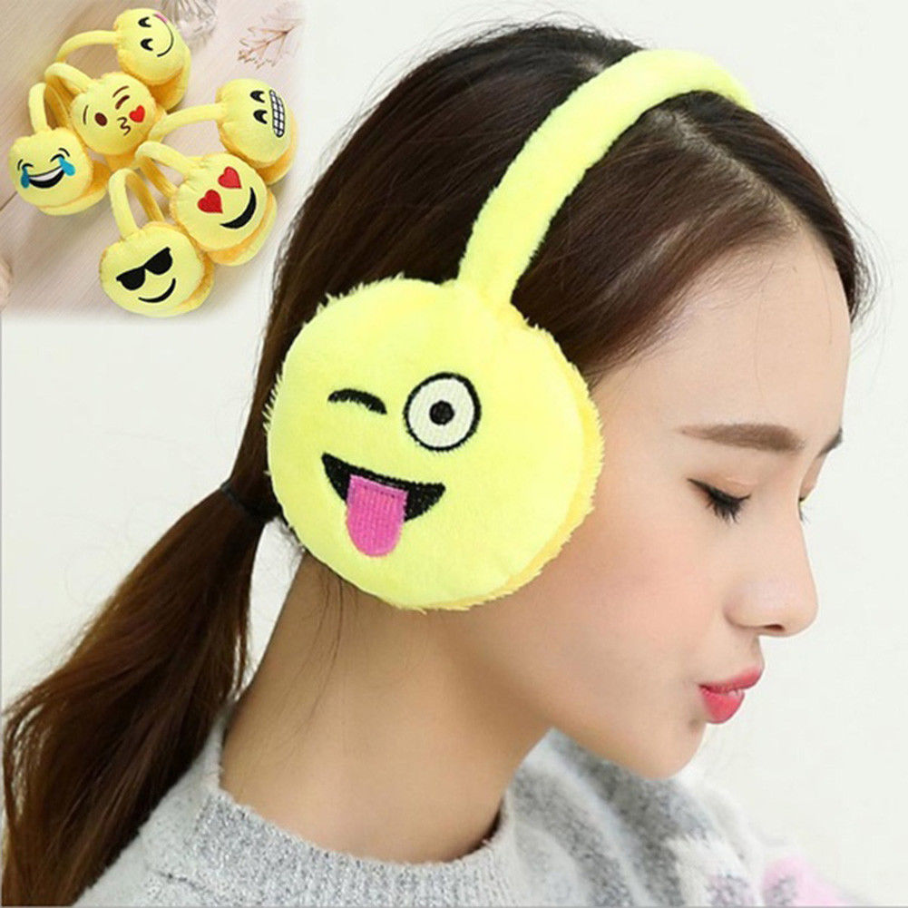 Winter Warm Earmuff Men Plush Ear Muffs Ear Warmers Fashion Ears Cover