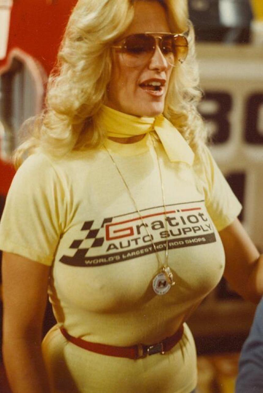 Linda Vaughn | Wannabe | Pinterest | Racing girl, Linda