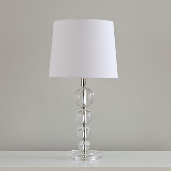 Dew drop table lamp base clear stacked balls table lamp the land dew drop table lamp base clear stacked balls table lamp the land of nod aloadofball Image collections