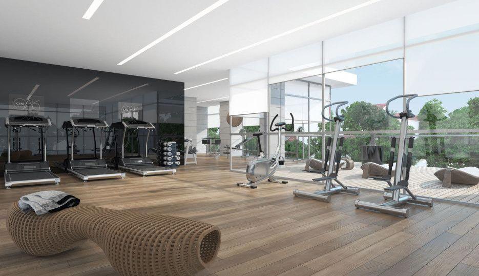 EAGLE Ando Studio Design, Gym design, Gym interior