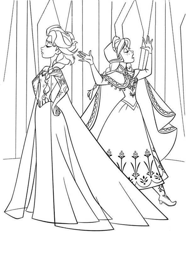 ausmalbilder eiskönigin 21  ausmalbilder  disney