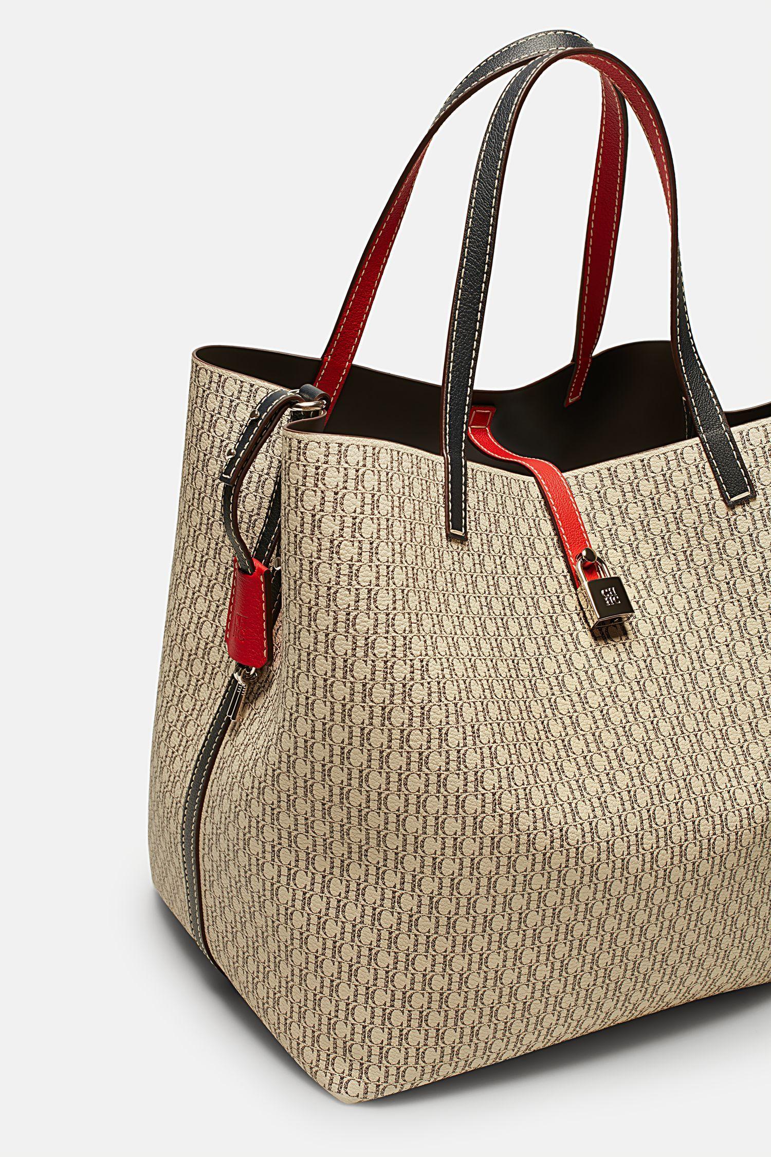 95bb2c067 Matryoshka Locked L | Large shoulder bag Ch Carolina Herrera, Large  Shoulder Bags, Casual