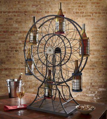 $199.00 Ferris wheel wine bottle holder