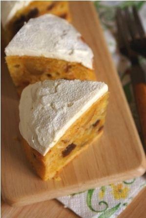 10年かかりました 秘密のキャロットケーキ ニンジンケーキ 簡単デザート スイーツ レシピ