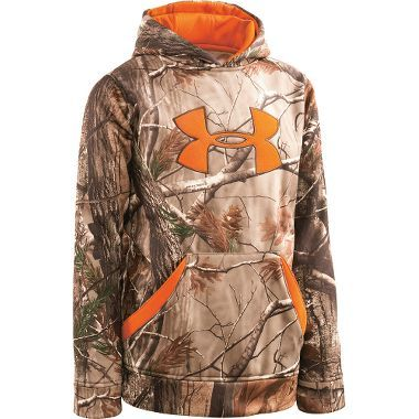 Under Armour Youth Big Logo Hoodie at Cabela s size small for Brody ... ee4620492011c