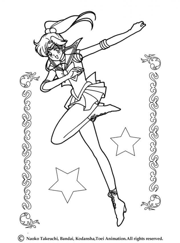 Sailor Moon | Coloriages Sailor Moon | Pinterest | Imágenes, Sailor ...