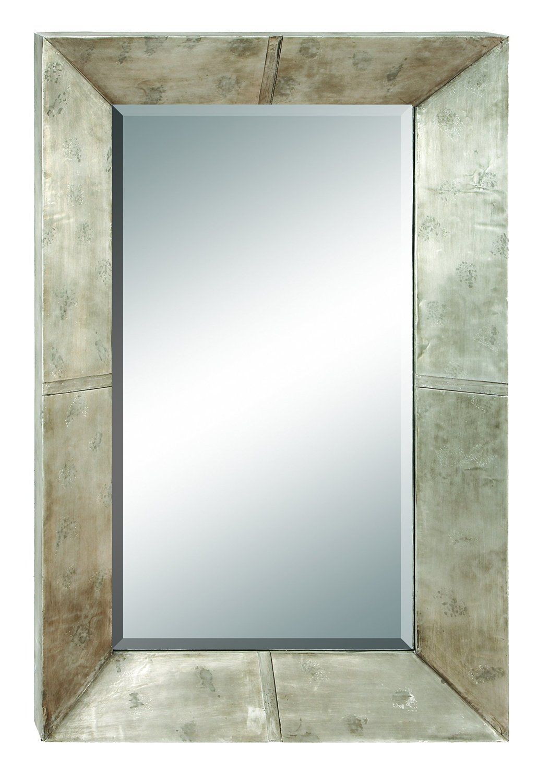 Benzara 48461 45 in. x 28 in. Wood Mirror: Amazon.ca: Home & Kitchen ...