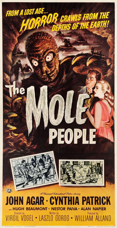 The Mole People 1956 Was Another Great Universal International B Movie Of The 1950s Forget P Cartazes De Filmes De Terror Filmes Vintage Lixeira Carro