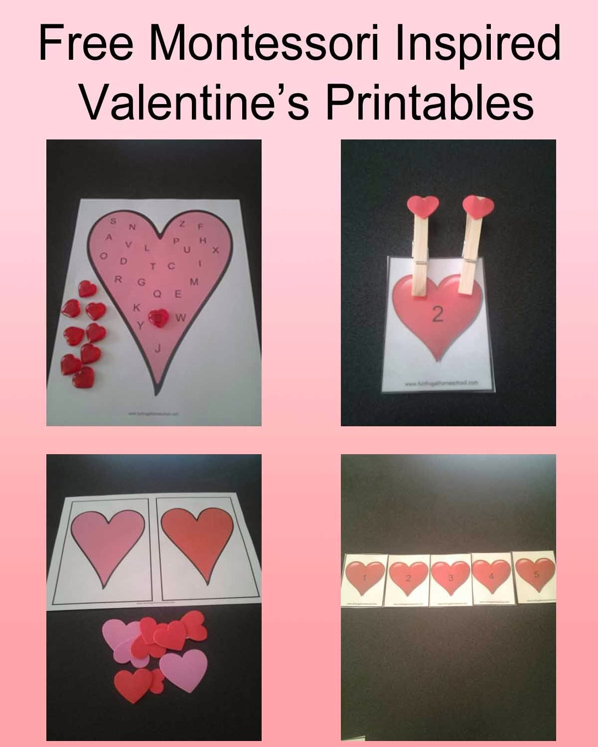 Free Valentine S Printables For Preschool From Funfrugalhomeschool