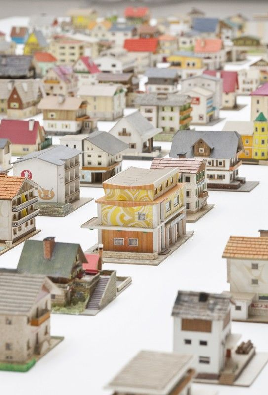 The 387 Houses of Peter Fritz ARThouse Pinterest Model - courtesy clerk