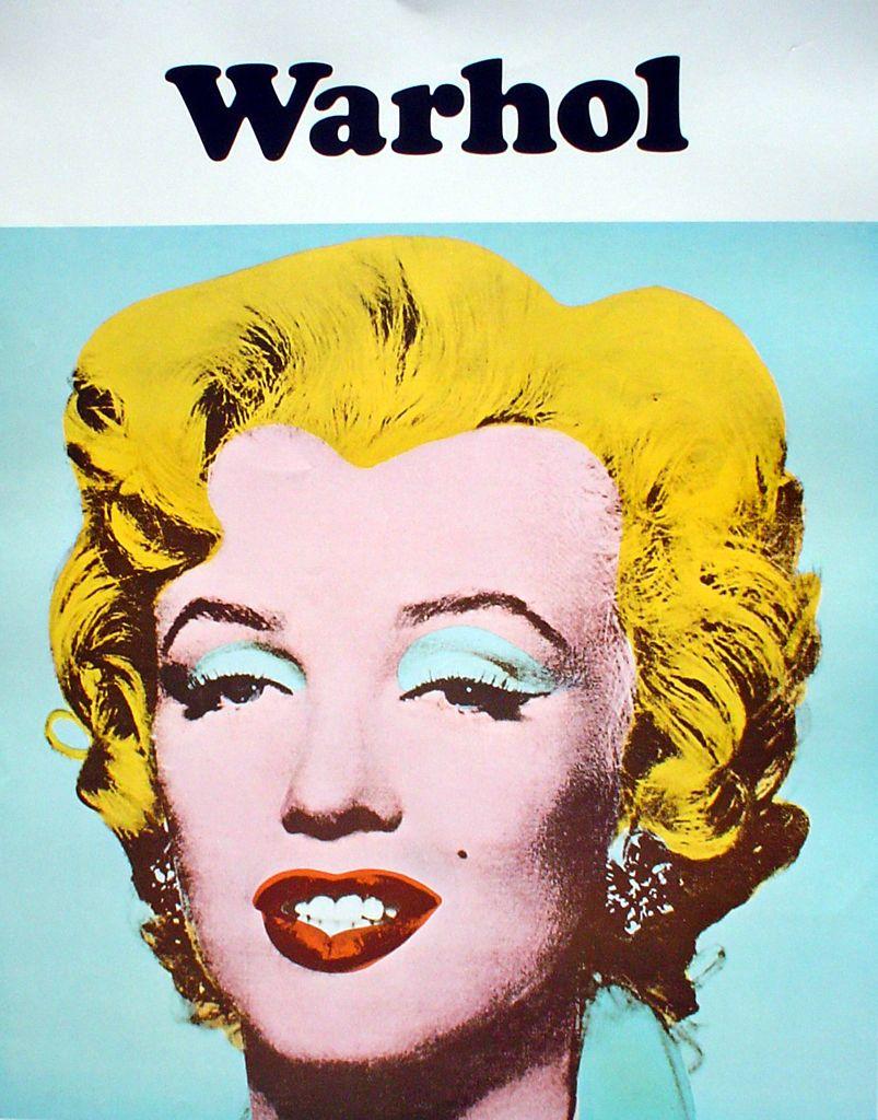 Marilyn Monroe By Andy Warhol Poster Andy Warhol Marilyn Cartel De Exposicion Andy Warhol