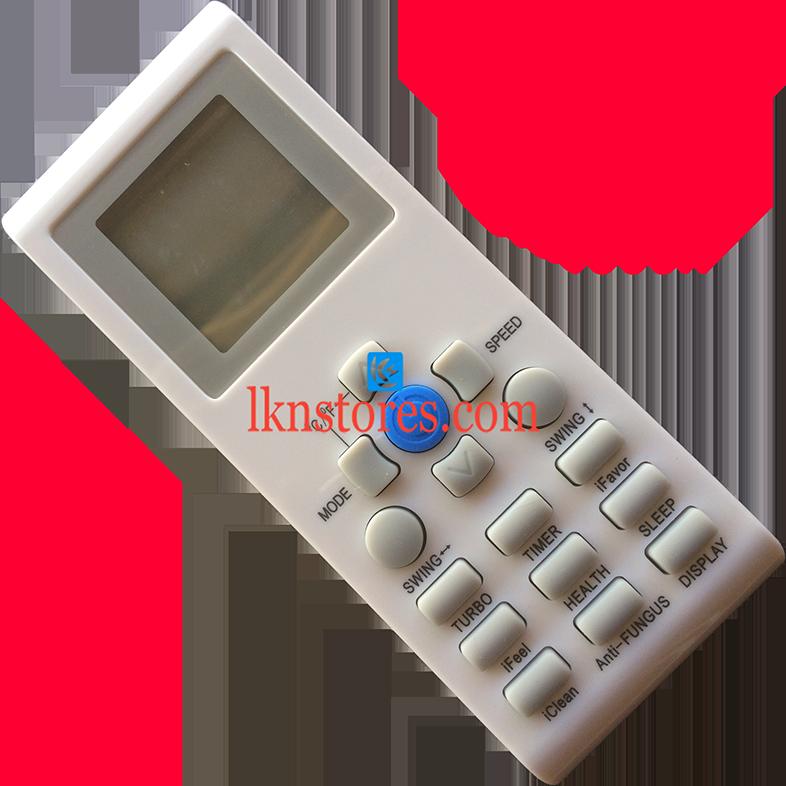 Reconnect onida videocon ac air condition remote