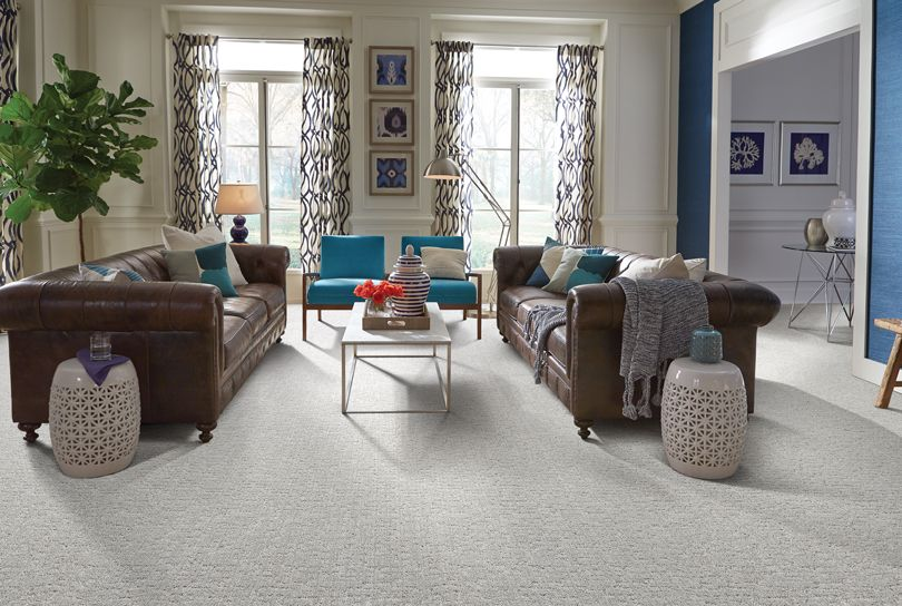 Subtle Patterned Living Room Carpet Living Room