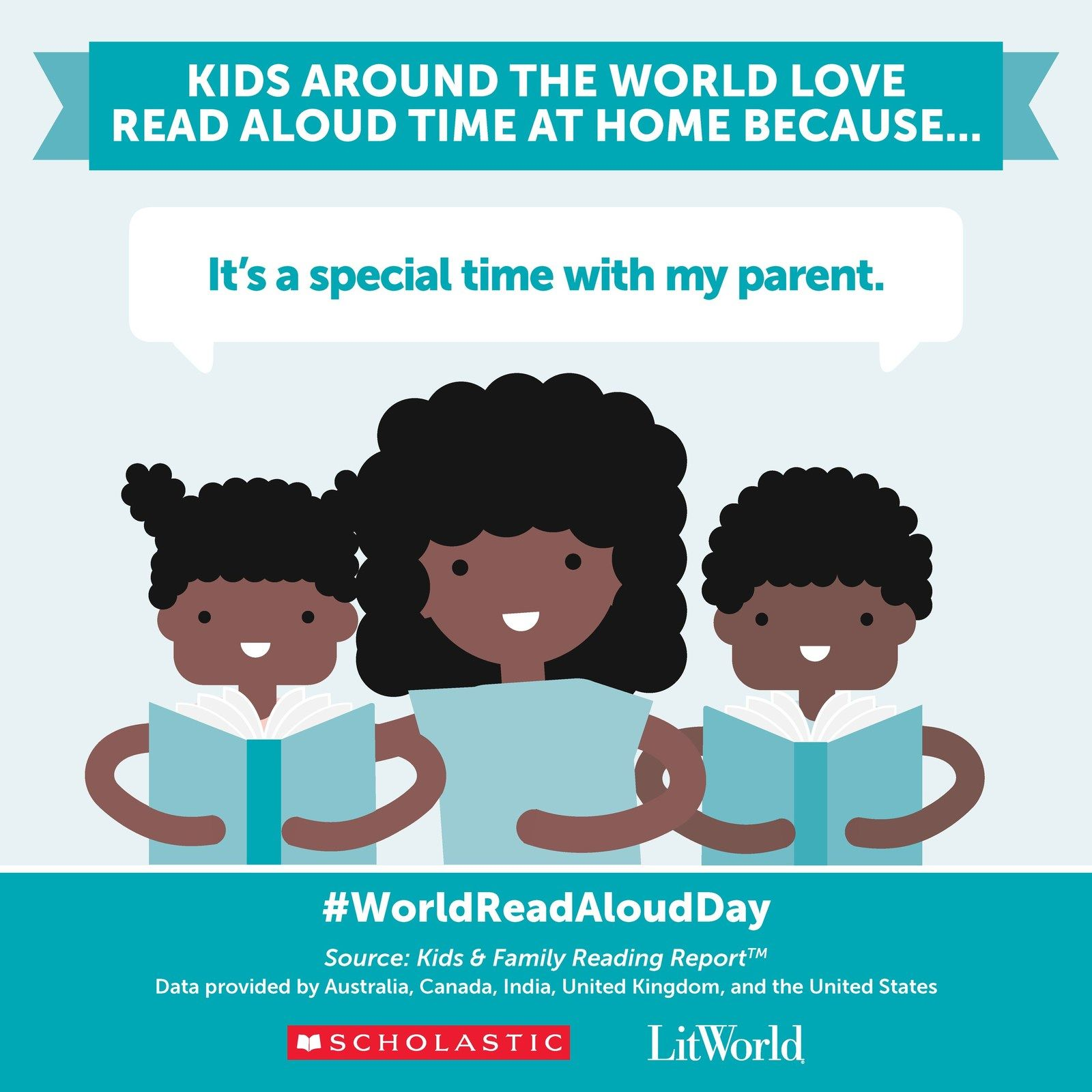 Read Aloud Change The World Get Ready To Celebrate World Read