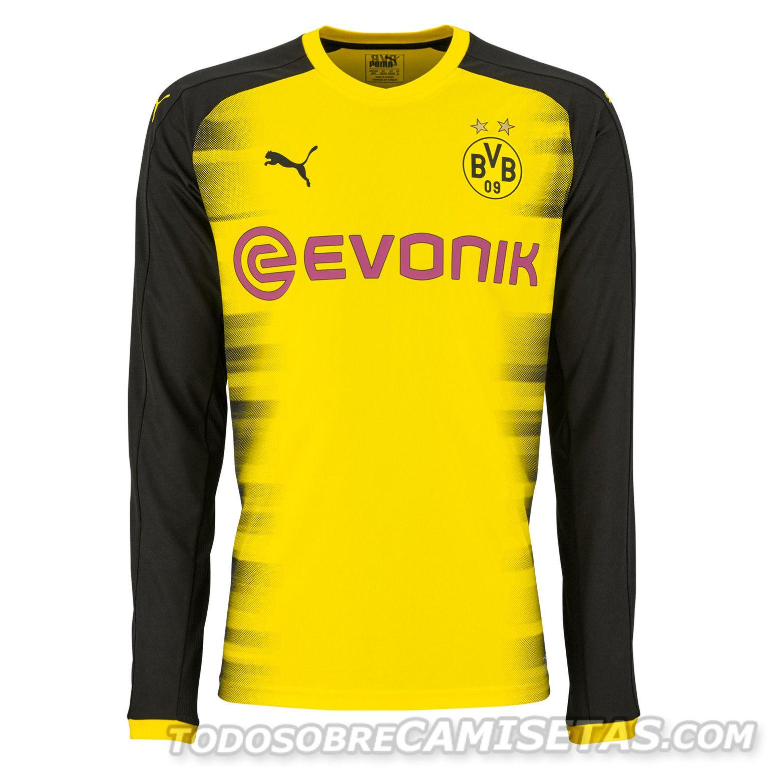 Borussia Dortmund 2017-18 PUMA International Kit