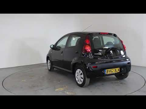 PEUGEOT 107 1.0 ACTIVE - Air Conditioning - Free Road Tax | In black ...