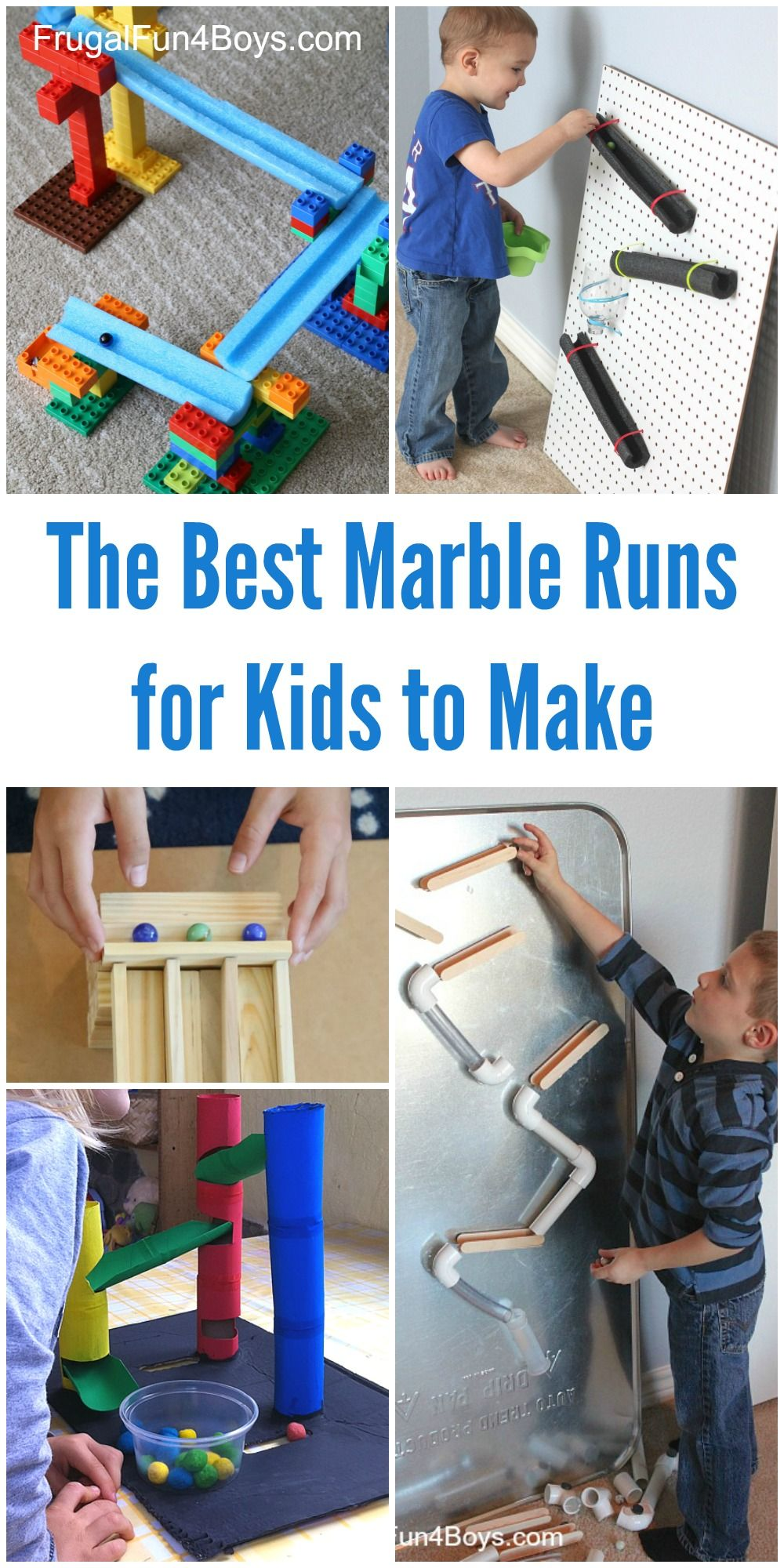 Fun Stem Challenges For Kids The Best Marble Runs To