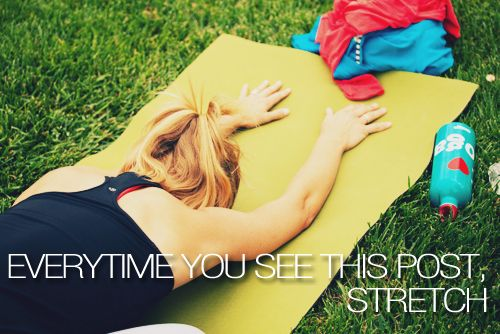 stretch!------------Get the point!