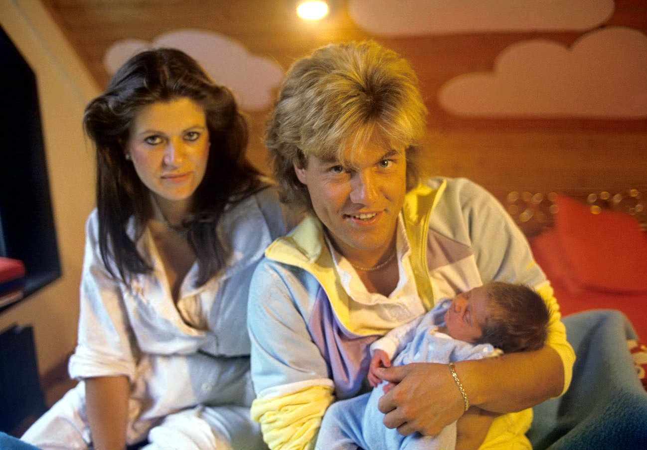 Dieter Bohlen with his wife Erika and son Mark # ...