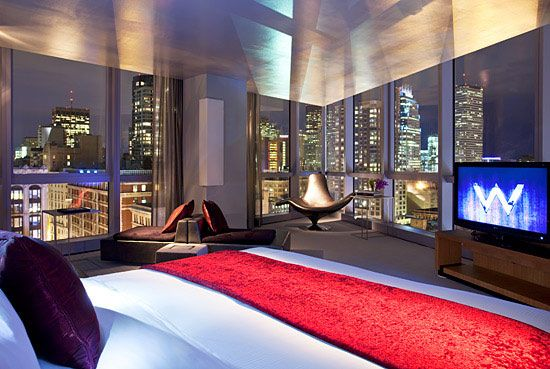 Extreme Wow Suite W Boston Boston Hotels Hotel Hotel Chic
