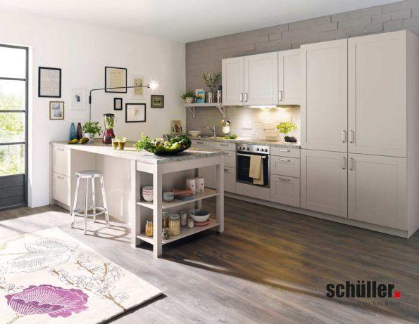 Küche Casa Im Landhausstil In Grau Von Schüller. #küche #landhausküche # Küchen
