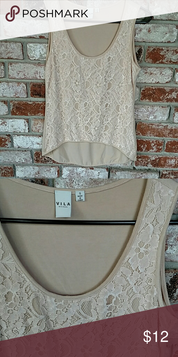 Vila Milano Top Lacy high/low top Vila  Tops