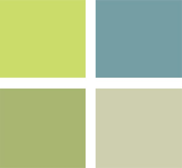 Example Palette Clockwise From Top Left All From