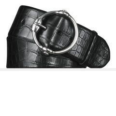 Alligator Equestrian Bit Belt - Ralph Lauren Best Sellers - RalphLauren.com