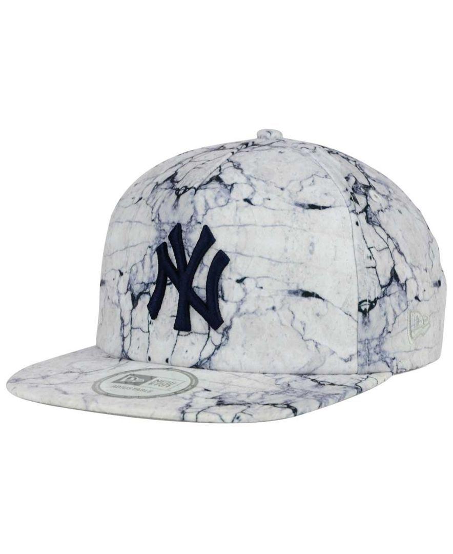New Era New York Yankees Marble Mix A-Frame 9FIFTY Snapback Cap ...