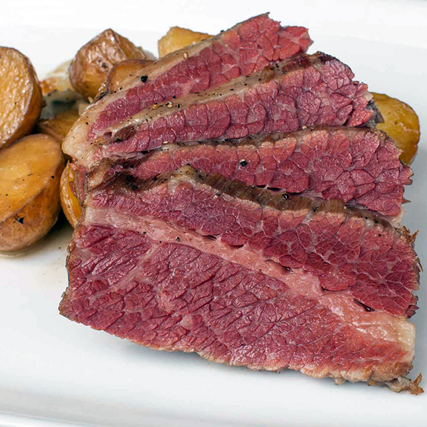 This beef brisket is sounding pretty good right about now.