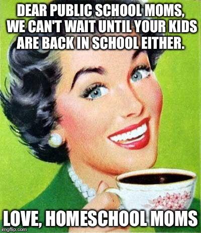 Dear public school moms