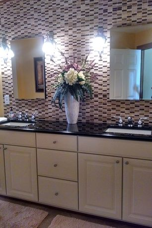traditional master bathroom with hotel collection microcotton rug collection master bathroom raised panel wall sconce
