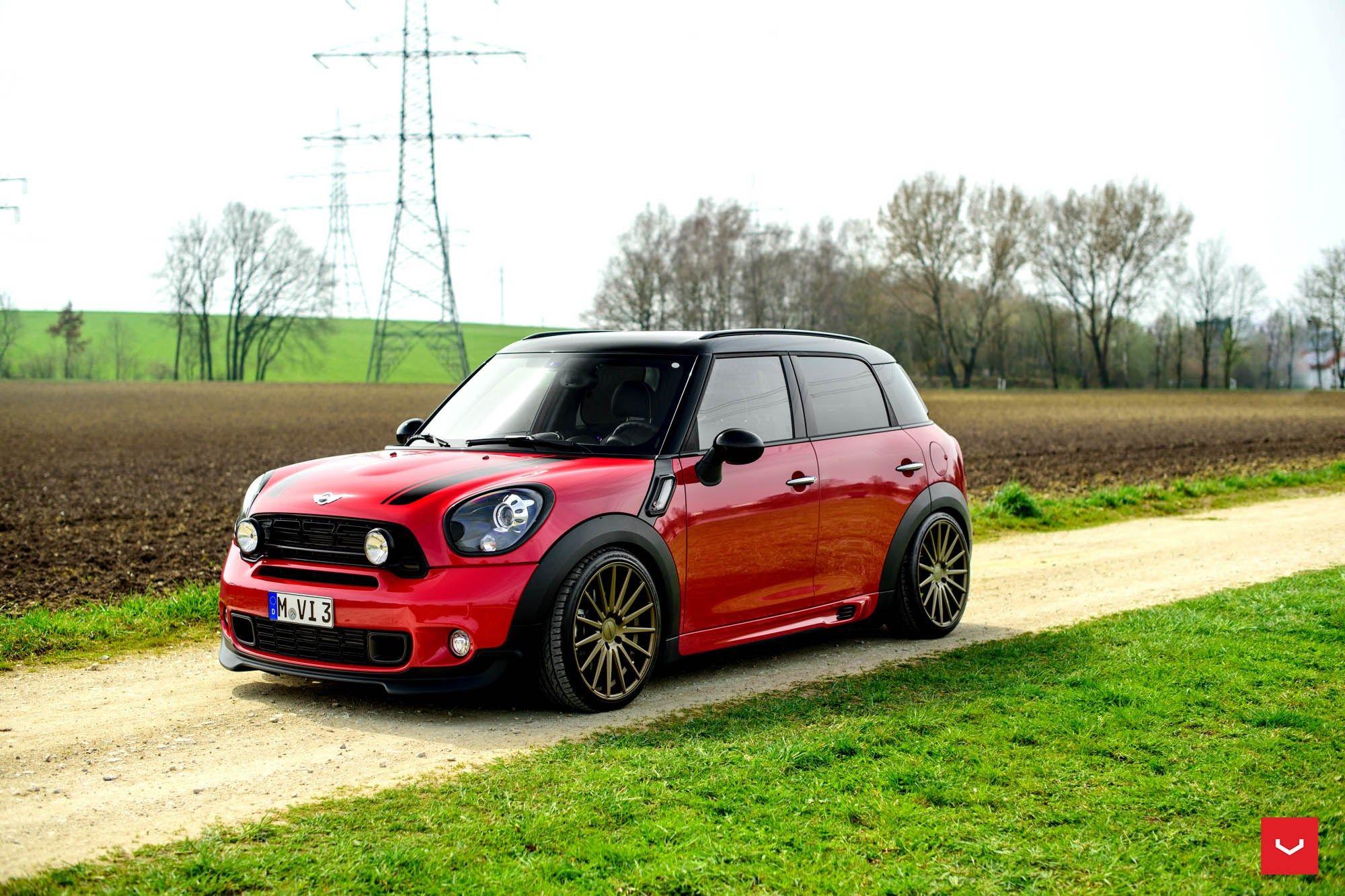 Bon Vossen Wheels   MINI COUNTRYMAN   VOSSEN FLOW FORMED SERIES: VFS2 #mini  Wheels #