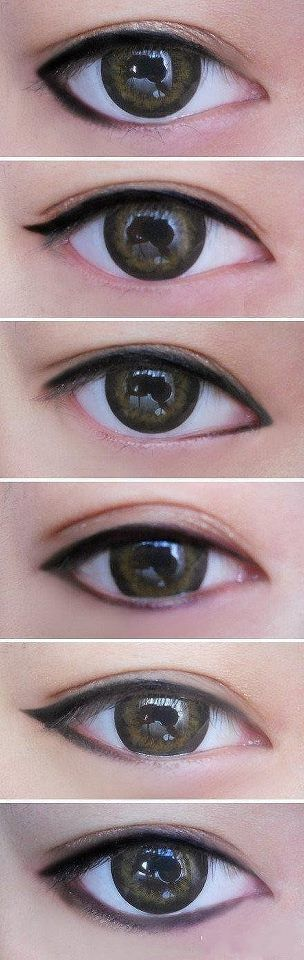 different style eyeliner gives different looks. Eyeliner Tips And Tricks For Beg…