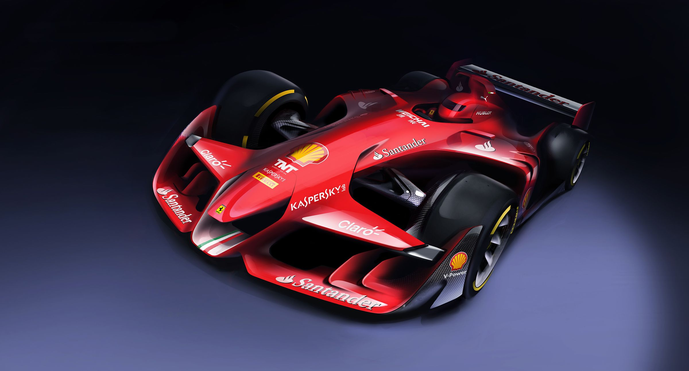 Ferrari S New Concept Is A Political Statement About The Problems With F1 Formula 1 Car Concept Cars Ferrari