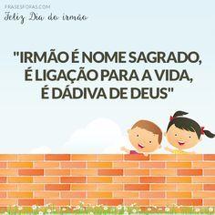Frases De Irmão 10 Frases Fofas Para Irmãos E Irmãs Pinterest