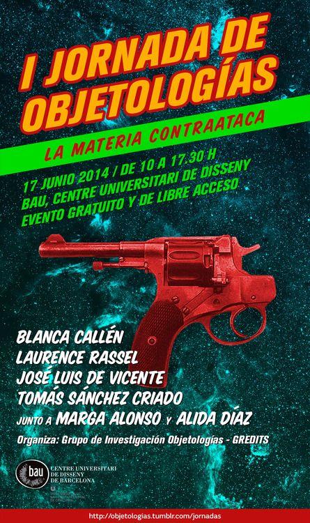 OBJETOLOGÍAS - I Jornada de Objetologias: la materia contraataca. JARON ROWAN (blog: demasiado superávit)