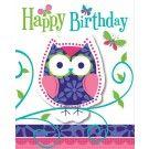 Owl Pal Invitations   8 ct