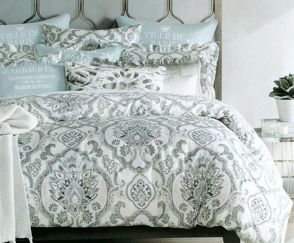 Amazon Com Tahari Home Duvet Quilt Cover Bohemian Style Moroccan