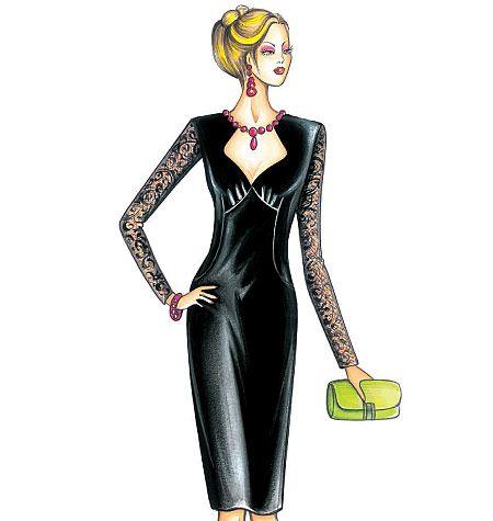 F3636, Marfy Dress | I\'m SEW Creative | Pinterest | Moda, Blouse ...