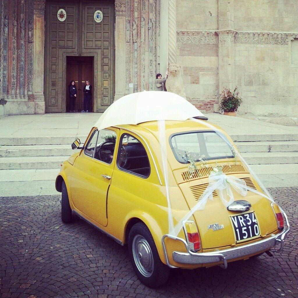 Here comes the bride | Wedding car, Italian wedding venues ...
