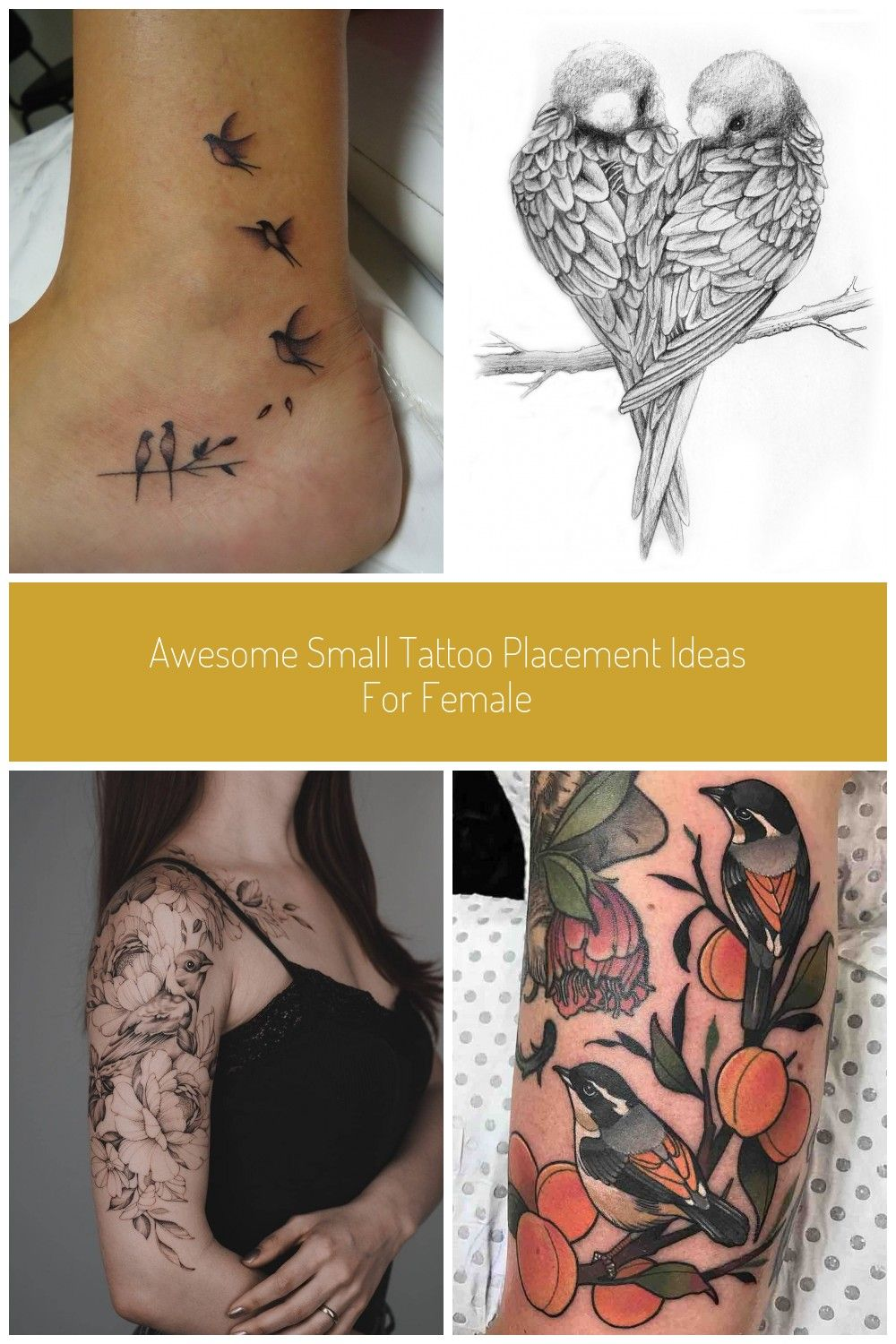 Tatoo. Female Tattoo Placement Meanings Best Place To