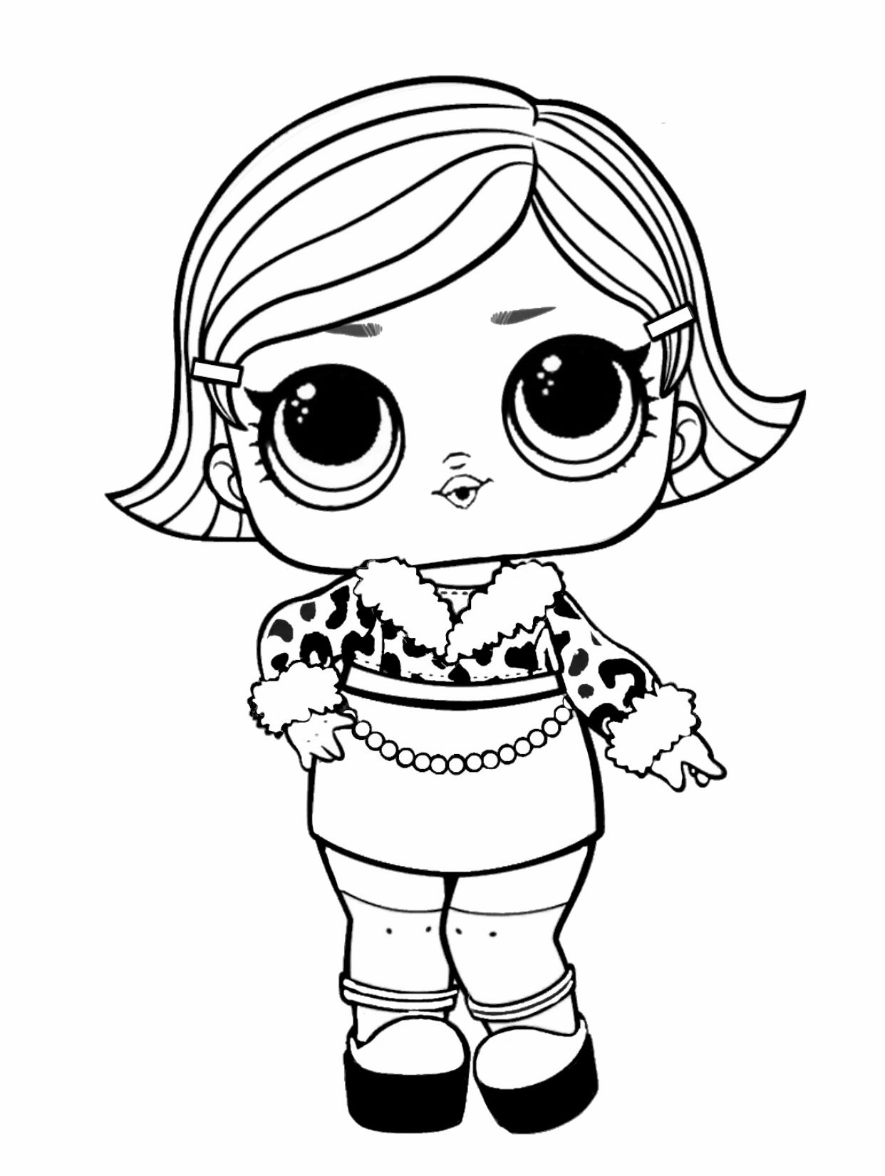LOL surprise coloring page   Baby coloring pages, Coloring books ...