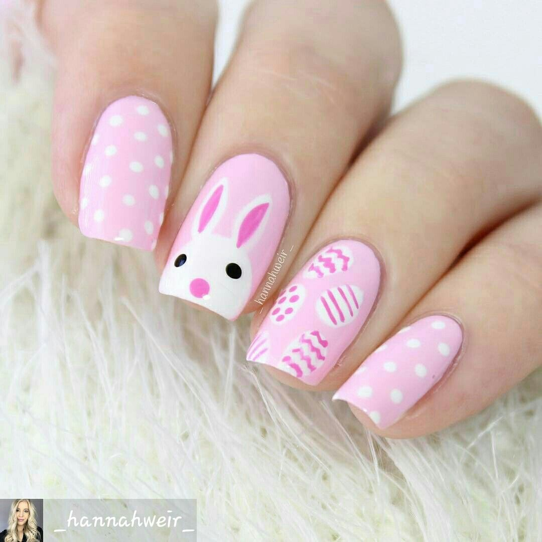 20 Puuuurfect Cat Manicures Cat Nail Art Designs For Lovers | Easter ...