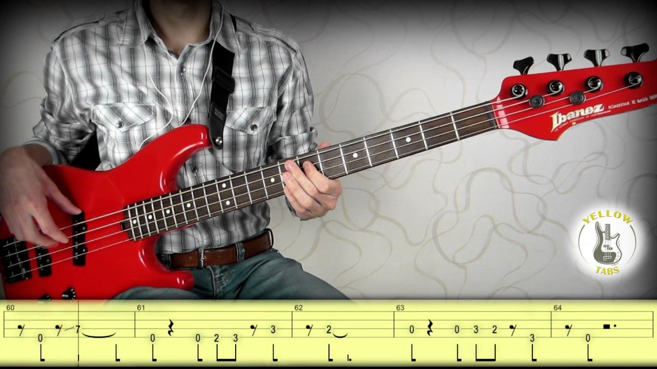 Gorillaz - Feel Good Inc  (Bass cover with tabs) | Bass