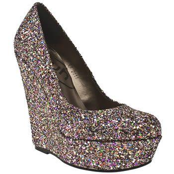 d454726bce6f Women s Multi Schuh Princess Wedge Glitter at Schuh