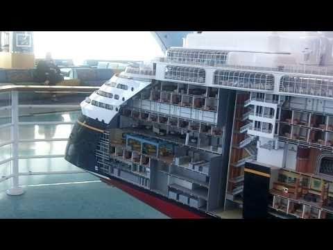 Disney Cruise Ship Wonder Tour Part HD YouTube Cruise - Cruise ship staff quarters